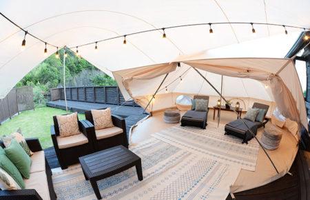 オープンテント